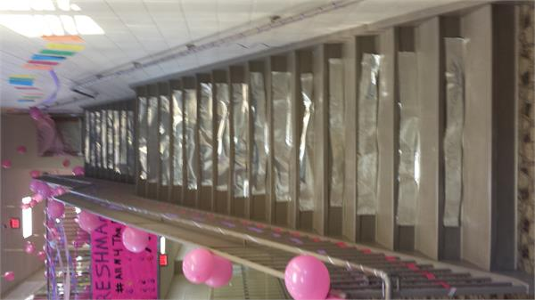 Hall Decoration for HS Cancer Awareness Week